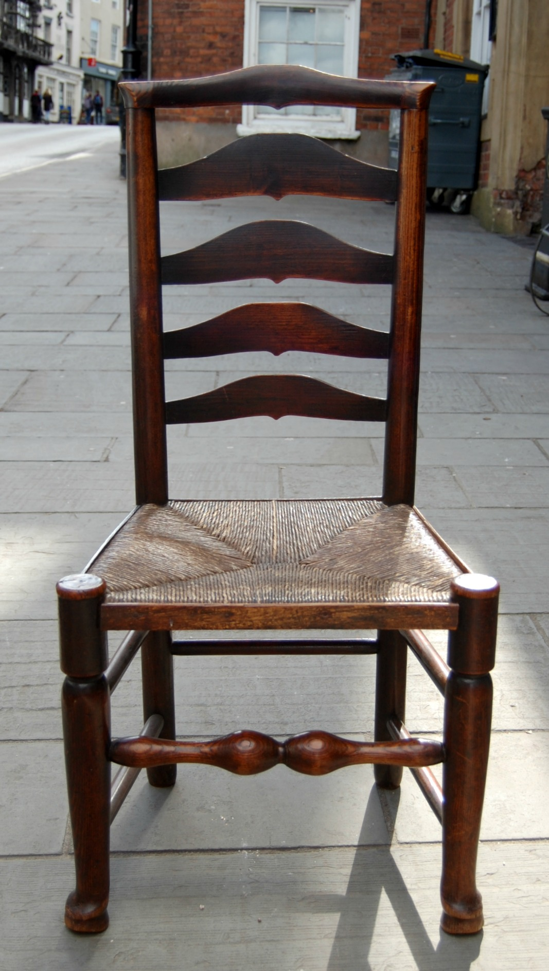 C1800 Billinge Ladder Back Chairs