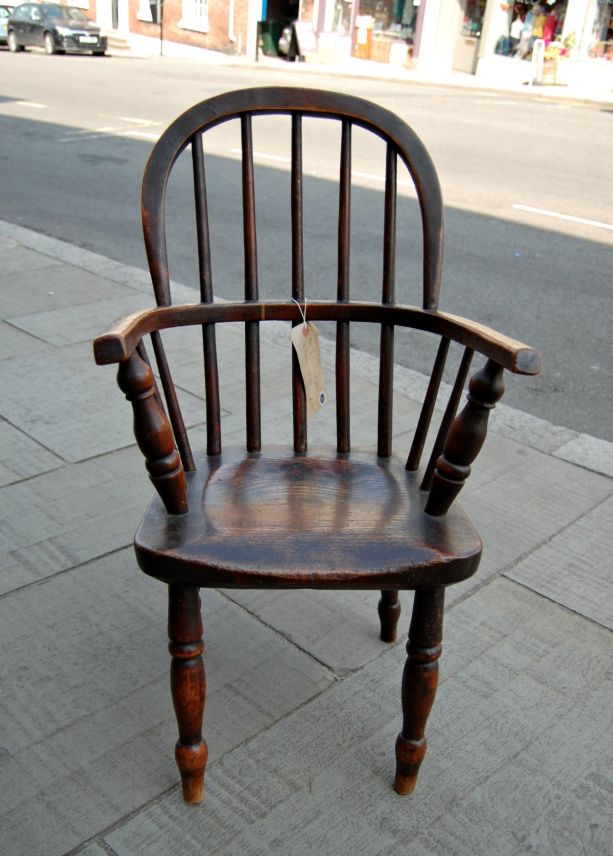 C18th Childs Winsor Chair - Antique Child Chair